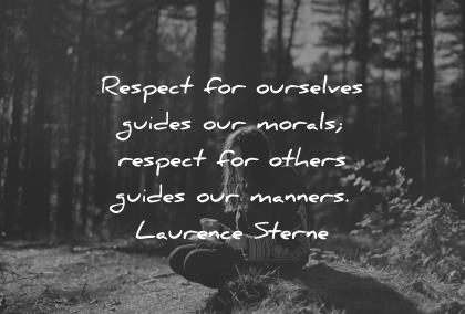 respect others to be respected